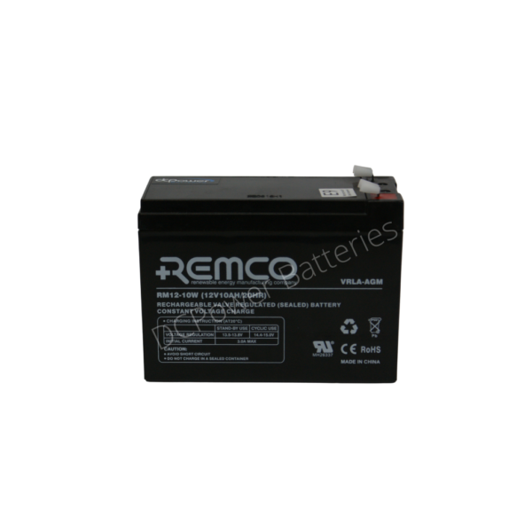 Remco RM12-10 standby battery