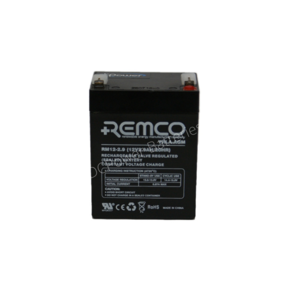 Remco RM 12-2.9 standby battery