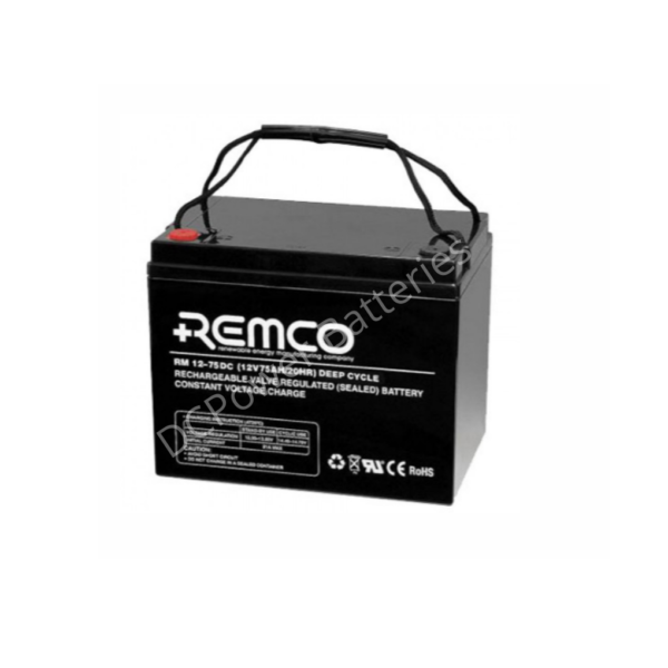 Remco RM12-75 | standby battery