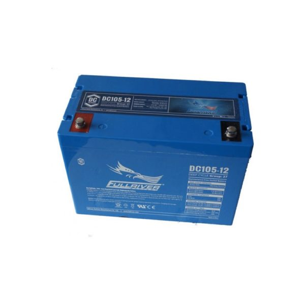 Fullriver DC105-12 | Deep Cycle Battery | DCPower