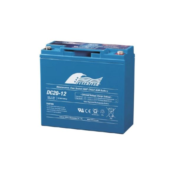 Fullriver DC20-12 | Deep Cycle Battery | DCPower