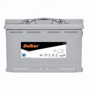 Delkor LN3 AGm Stop Start Battery