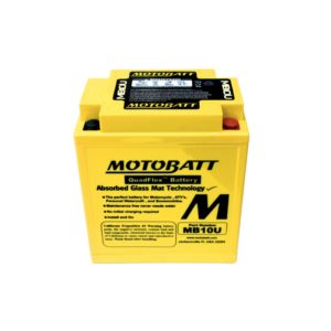 Motobatt MB10U | Motorcycle Battery | DCPower Batteries