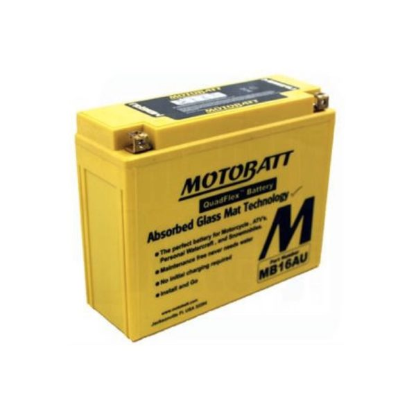 Motobatt MB16AU | Motorcycle Battery | DCPower Batteries