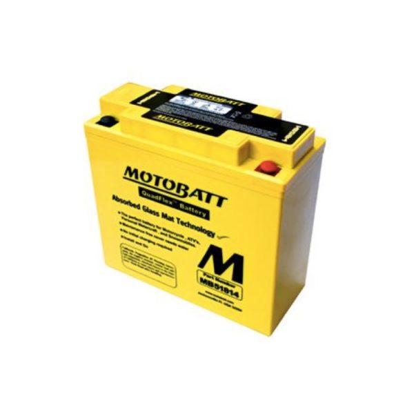 Motobatt MB51814 | Motorcycle Battery | DCPower Batteries