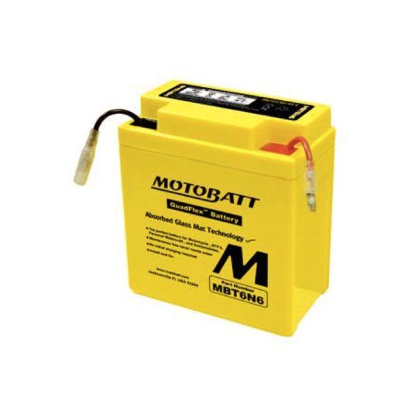 Motobatt MBT6N6 | Motorcycle Battery | DCPower Batteries