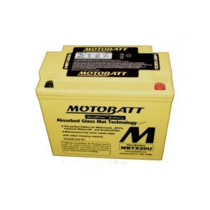 Motobatt MBTX20U | Motorcycle Battery | DCPower Batteries