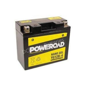 Poweroad YG12B-4   Motorcycle Battery