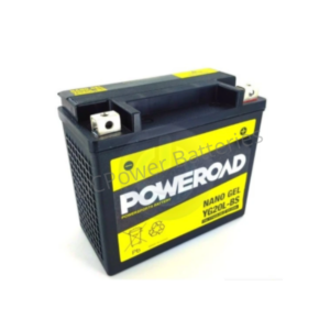 Poweroad YG20L-BS | Motorcycle Battery