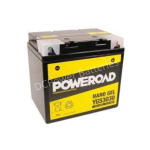 Poweroad YG53030 | Motorcycle Battery