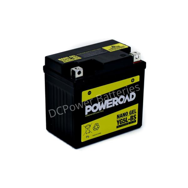 Poweroad YG5L-BS | Motorcycle Battery