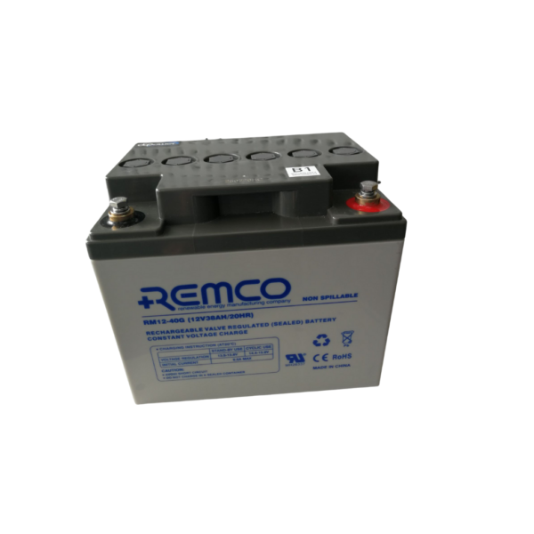 Rm12-40G Gel Deep Cycle Battery
