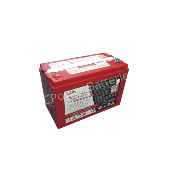 Sterling Power 12V, 100Ah Lithium (LiFePO4) deep cycle battery