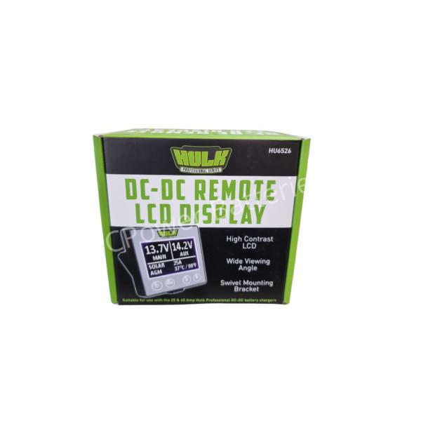 DC-DC Remote LCD Display