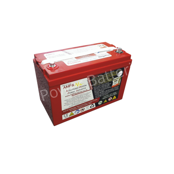 Sterling Power LiFePO4 12V 100ah Deep Cycle Battery